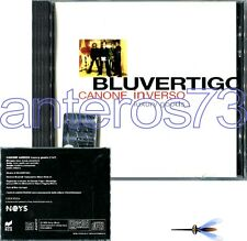 "BLUVERTIGO MORGAN ""CANONE INVERSO - LUXURY GOODS"" RARO CD 1999"