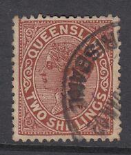 Queensland - Sg181 - 2/ deep brown - good used