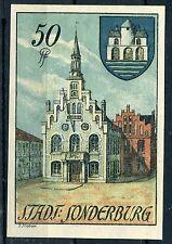 Sonderburg 50 Pfennig Notgeld