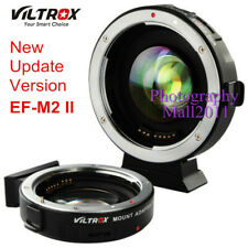 Viltrox EF-M2 II Auto Focus 0.71x Booster Adapter for Canon EOS EF Lens to M43