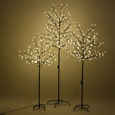 Pre lighted christmas trees ebay warm white led lights christmas xmas cherry blossom tree indoor or outdoor decor aloadofball