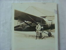 Vintage Photo Stinson Junior SM7B Airplane 790