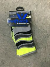 Swiftwick - Vision FIVE Wave, Socks for Cycling, Stripe Gray- Small