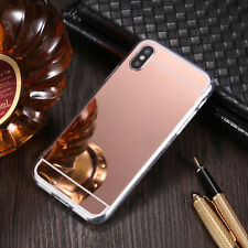 Funda Carcasa TPU Silicona espejo mirror cover para Samsung S9+ i Phone X 8 Plus