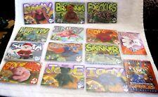 Ty Beanie Babbies Cards 1999 thirteen Card Set-Briitania,Inky,Rover, Spinner,Jade