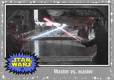 2015 Star Wars Journey To The Force Awakens Grey #36 Master VS Master > Vader