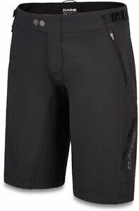 Dakine Xena MTB Baggy Shorts Women's Medium Shell Black Bike