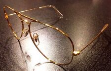 Vintage NOS B&L Ray Ban Aviator Large Metal II Sunglasses Eyeglass Frame 62[]14
