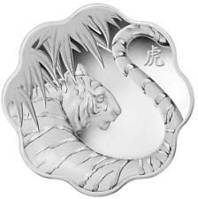 2010 Canada $15 Silver Lunar Lotus Year of the Tiger (1st in series)