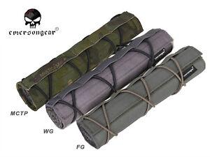 Emerson 22cm Airsoft Suppressor Cover Combat Silencer Cover EM9330