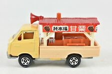 Tomica 27 Toyota Hiace Sweet Chestnut Vendor 1:68 Made in Japan Mint