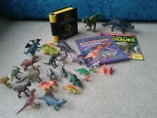 Dinosaur bundle. Books, toys, interactive book. Excellent condition
