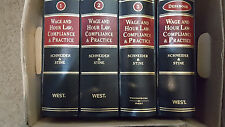 Complete Set 4 Wage and Hour Law Compliance Practice Schneider [Shelf 6-1 LH]