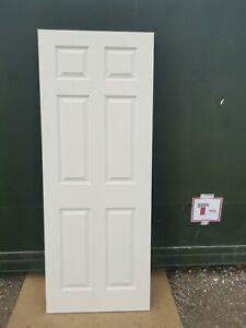 DIC0960 Howdens Colonial Grained 6 Panel 2'6 Int. Door