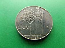 ITALY 1958 R 100 Lire