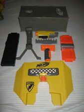 Nerf Accessories Lot Ammo Box + Shield + Grips + Mags + Ammo Rack + Laser + More