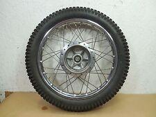 1979 1978 Honda CM185 Twinstar Front Wheel Rim Shinko tire