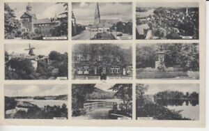 Ansichtskarte Schleswig - Holstein  Eutin  Hotel Stadt Oldenburg  9 Bilder  1938