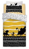 Disney The Lion King Tribal Sunrise Panel Single Bed Duvet Quilt Cover Set Gift
