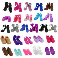 Summer High Heels Flat Sandal Shoes Accessories For Barbie Doll Christmas Gift