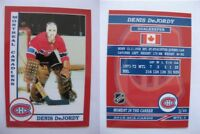 2015 SCA Denis Dejordy Montreal Canadiens goalie never issued produced #d/10