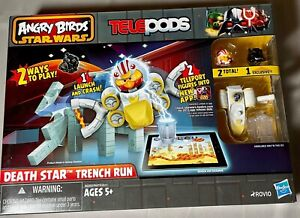 Angry Birds Star Wars Telepods Death Star Trench Run Game