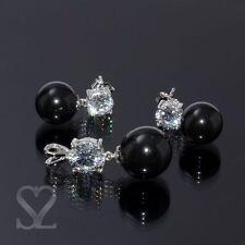 Schmucksets mit echten Perlen aus Sterlingsilber für Damen