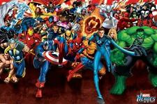 Marvel : Heroes Attack - Maxi Poster 61cm x 91.5cm (new & sealed)