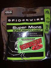 spiderwire 4lb super mono 110 yards Age Unknown Aa