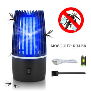 Electric UV Mosquito Killer Lamp Fly Bug Indoor Insect Zapper Pest Catcher