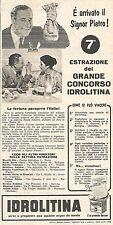 W8924 IDROLITINA - Maria Astorri di Asti - Pubblicità del 1958 - Vintage advert