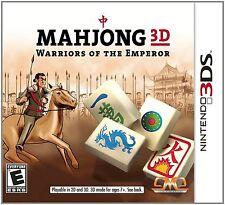 Mahjong 3D: Warriors of the Emperor (Nintendo 3DS, 2012)