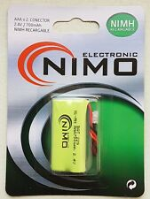 Bateria Telefono Inalambrico Bat-229 AAA Nimo 700mAh Recargable