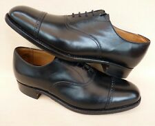CHEANEY Mens Oxford Shoes Classic Toe Cap Formal Church Wedding Shoes Size 8 NEW