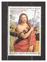 S31389) Smom 1991 MNH S.Giovanni Battista XIII Painting 1v