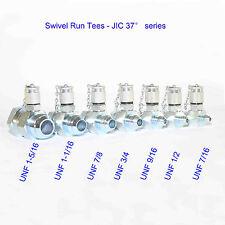 SAE JIC 37° Hydraulic Swivel Run Tees kit ( 7Pack) ,Test Coupling Point