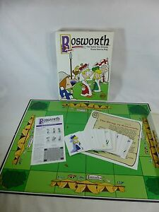 Bosworth Game Premier Edition War Game Chess 1998 Out of the Box