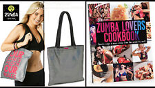 Zumba® Lovers Cookbook Recipes~Success Stories + Gym Bag Tote Combo~Great Gift!