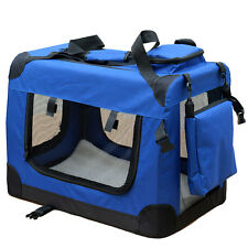 Boîte pour Chien de transport reisebox AUTO CHAT S Bleu