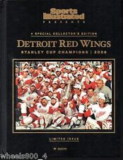 Sports Illustrated 2008 Detroit Red Wings Stanley Cup Champions Hard Cover Exc.