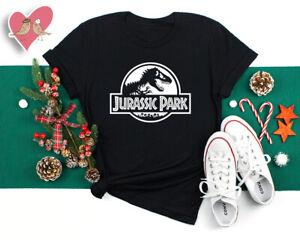 JURASSIC PARK T shirt Theme Party Kids Adults Dinosaur World Retro Movie (67) W