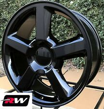 "20"" inch 20 x8.5"" Wheels for Chevy Avalanche LTZ Gloss Black Rims"