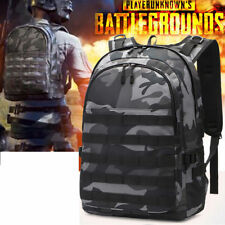 New PUBG Playerunknown's Battlegrounds Level 3 Backpack With USB Charger Port