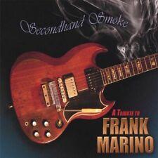 SECONDHAND SMOKE Tribute To FRANK MARINO (GEORGE LYNCH PILSON MONTROSE Promo CD)