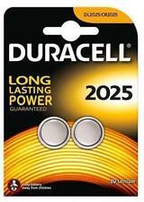 Duracell Knoopcel Batterijen - CR2025 2 stuks