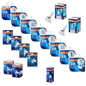 Genuine Osram Cool Blue Intense Car Bulbs H1 H3 H4 H7 H8 H11 W5W HB3 HB4 D1R