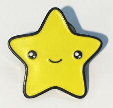 Enamel Lapel Pin Cute Star Kawaii Face
