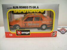 "Alfa Romeo 75 GR.A #75 ""Jägermeister"", 1985, orange, Bburago 1:24 (Italy), OVP"
