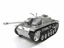 Complete Metal 1/16 Mato Stug III KIT Infrared Recoil RC Tank Metal Color 1226