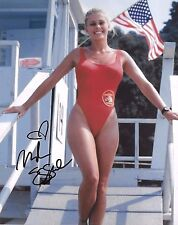 Nicole Eggert Signed 8x10 Photo - Charles in Charge / BAYWATCH BABE - SEXY! H343
